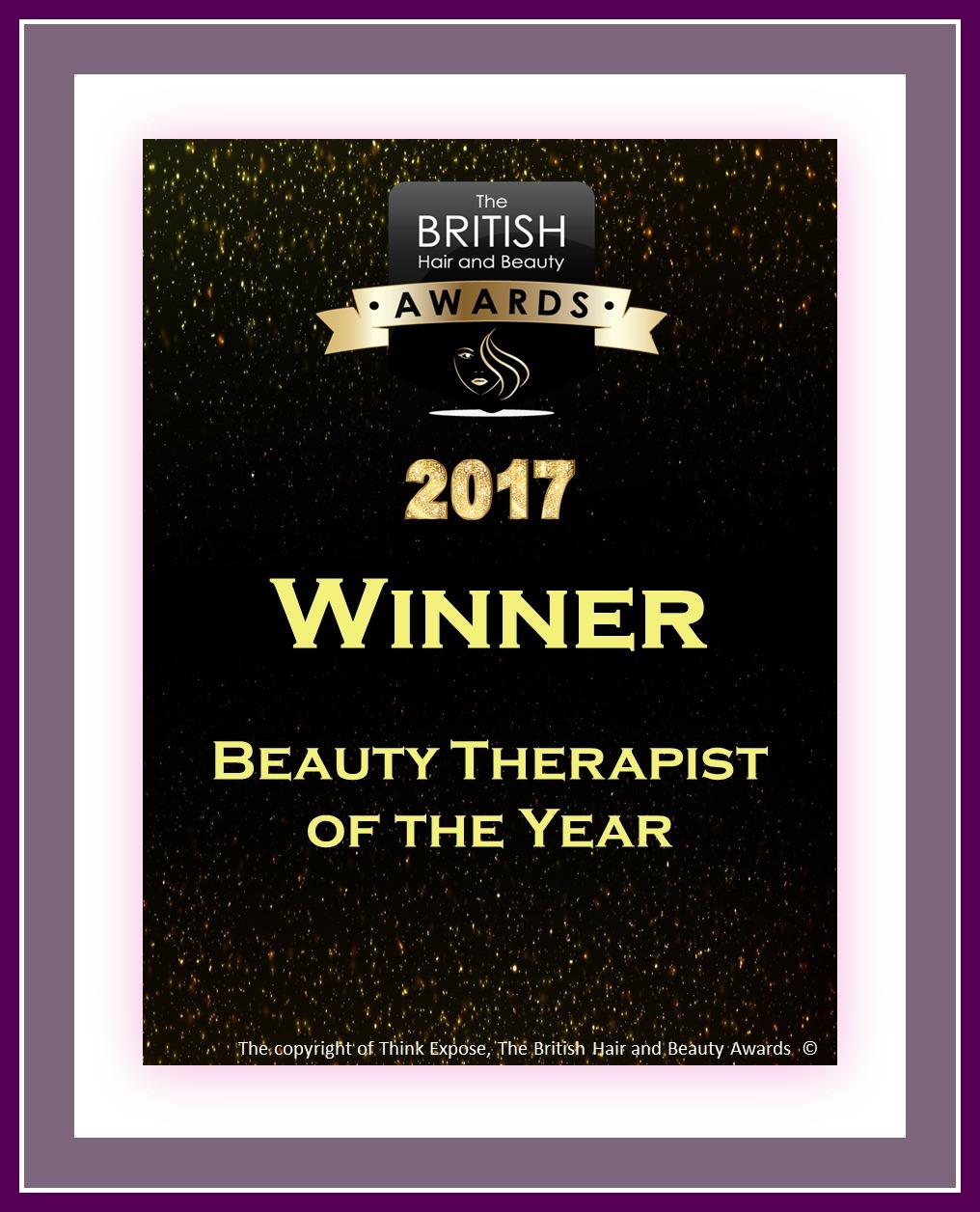 hair awards british beauty